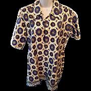 Vintage: Paisley western women's shirt:  Boot'n Spur Shop: President Hotel: Bangkok, Thailand: 60s