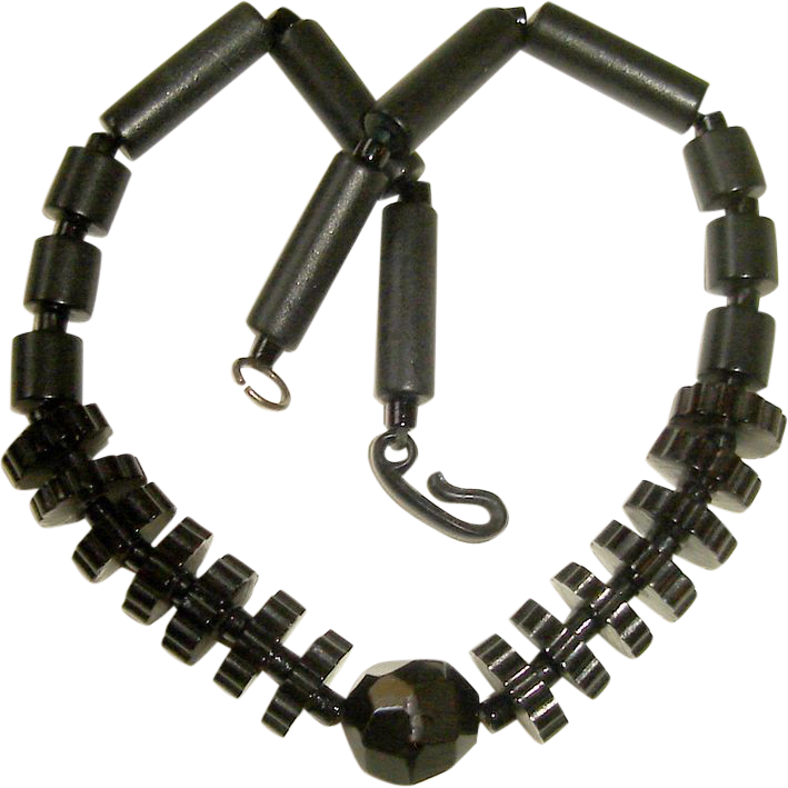 Art Deco Machine Age Choker Necklace