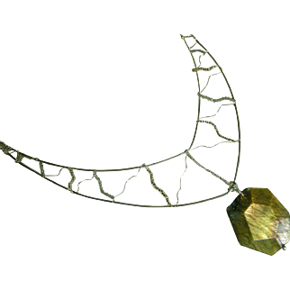 Lightning Blitz Labradorite Necklace
