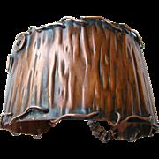 Antiqued Copper Cuff Bracelet