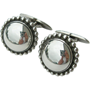 Georg Jensen - Sterling Silver - Cufflinks 25 B