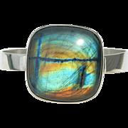 Kaunis Koru - Finland Sterling Silver and Labradorite - Bracelet