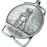 "Golfing Money Clip - Sterling Silver - ""The Links"""
