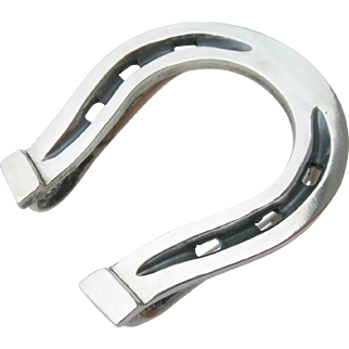 Antonio Pineda - Sterling Silver - Horseshoe Money Clip