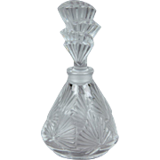 MINT Lalique Palmettes Perfume Bottle with Box