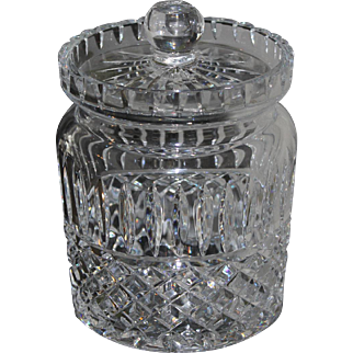 Vintage Waterford Crystal Candy Jar Biscuit Barrel Maeve