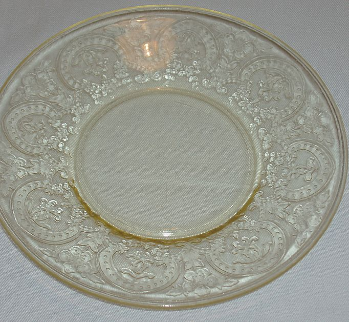 Indiana Depression Glass Horseshoe Saucers - RARE