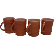 Fire King Anchor Hocking Ranger Coffee Mug-Lot 4