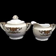 Noritake 42200 China Sugar & Creamer Set