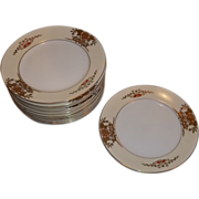 Vintage Noritake China 42200 Bread & Butter Plates