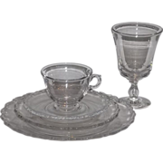 Fostoria Century 5 piece place setting - 8 set available