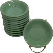 Fire King Jadeite Restaurant Ware Berry Bowls 7 Available