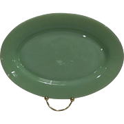 Fire King Jadeite Restaurant Ware Oval Platter
