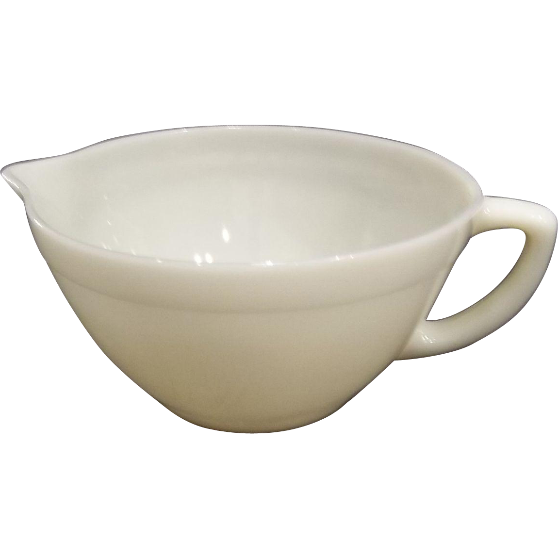 Fire King Ivory Batter Bowl