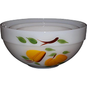 Fire King Gay Fad Nesting Bowls