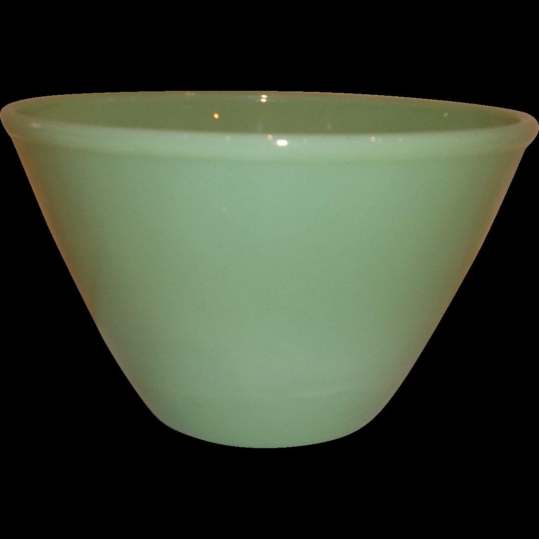Fire King Jadeite Splash Proof Nesting/Mixing Bowl