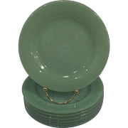 Fire King Jadeite Restaurant Ware Salad Plates