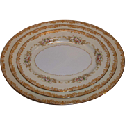 Noritake Cereus 615 Platters – Set of 3
