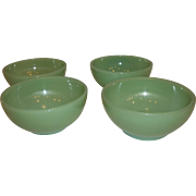 20% Off Sale: Fire King Jadeite Chili Bowls 1950's