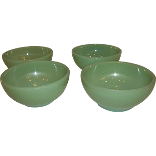 20% Off Sale: Fire King Jadeite Chili Bowl 1950's