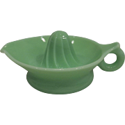 McKee Jadeite Juicer Depression Glass