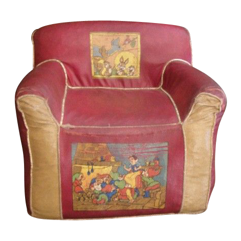 Vintage Disney child's chair