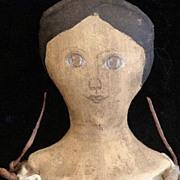 Primitive cloth doll