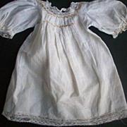 Darling vintage doll dress with hand smocking