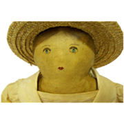 Folk Art primitive cloth doll