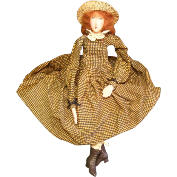 Great primitive doll