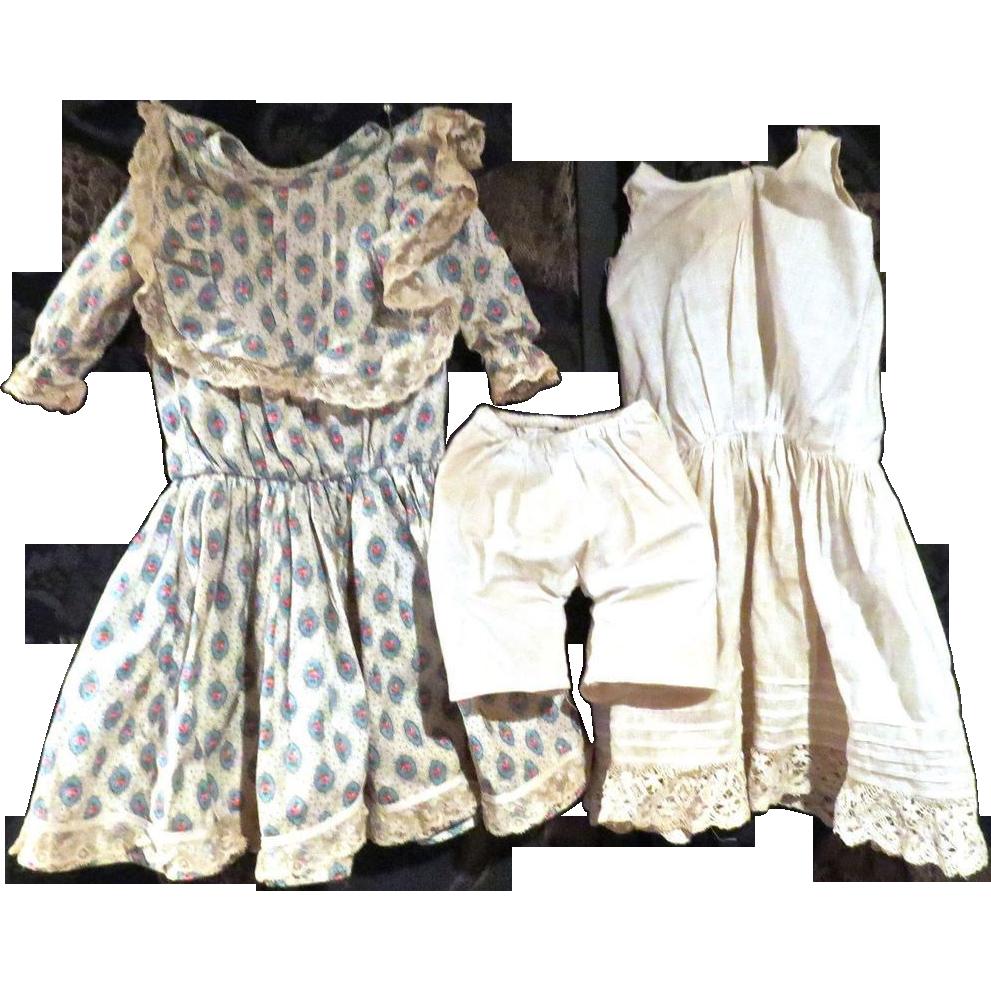 Great Antique dress and undies