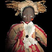 Charming vintage Black cloth doll