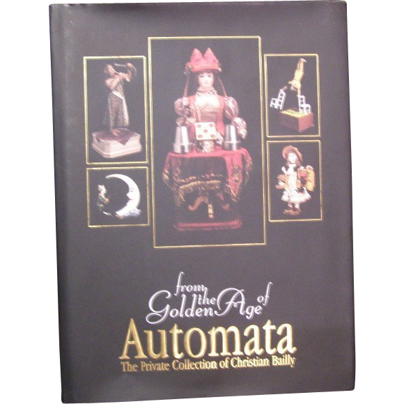 Wonderful Golden age of Automata book