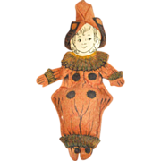Vintage Felt doll in ornate costume
