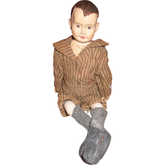 Darling primitive Boy doll