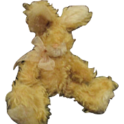 Adorable mohair bunny