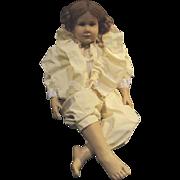 "Hildegard Gunzel 28"" barefoot child"