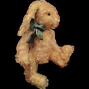 Adorable shaggy mohair artist Bunny Rabbit