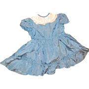 Darling vintage taffeta doll dress