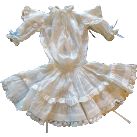 Gorgeous antique dress