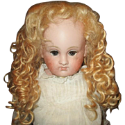 Beautiful vintage mohair wig