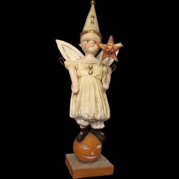 Amazing limited edition Pumpkin Fairy Doll by Debbee Thibault