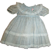Adorable dress with many pleats