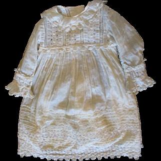Stunning large antique dress