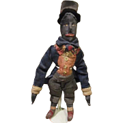 Incredible Black Golliwog doll OOAK