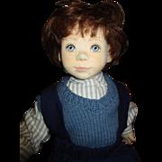 Charming cloth boy doll