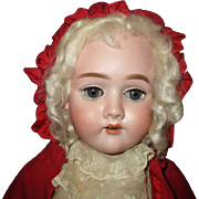 Darling  Red riding hood antique bisque