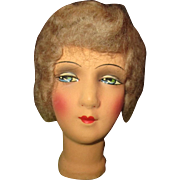Beautiful boudoir doll head