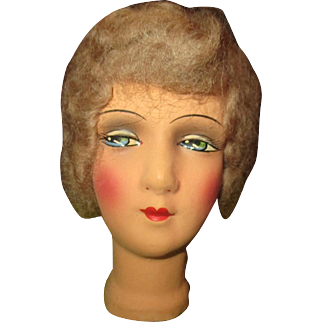 Beautiful boudoir doll head