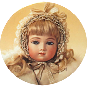 Beautiful A.T doll plate